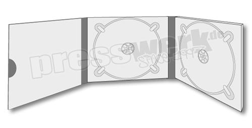 presswerk.de | CD-KP-1037 | 6s 2xCD 1xBooklet Pocket rund | cd pressen | CD-Digipack | CD-Booklet | presswerk münchen