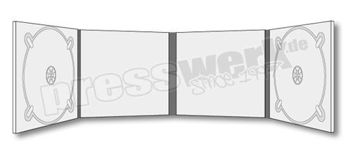CD-KP-1071 | CD Digipack 8-seitig 2xTray