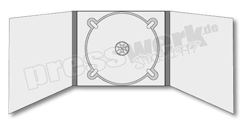 CD-KP-1093 | CD Digipack 6-seitig 1xCD mittig