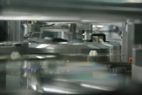 presswerk CD Herstellung - CD pressing