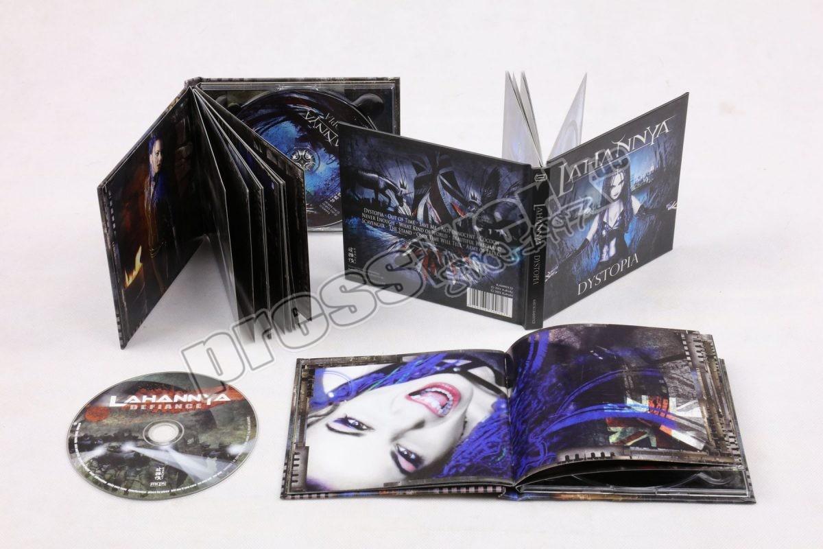Mediabook CD Format