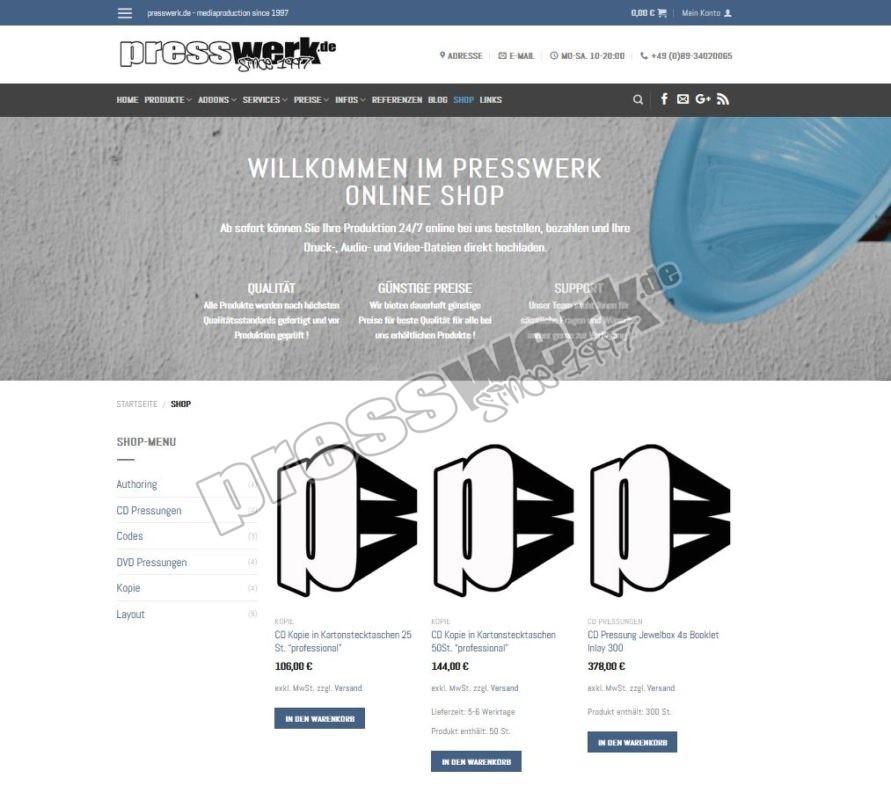 presswerk online-shop