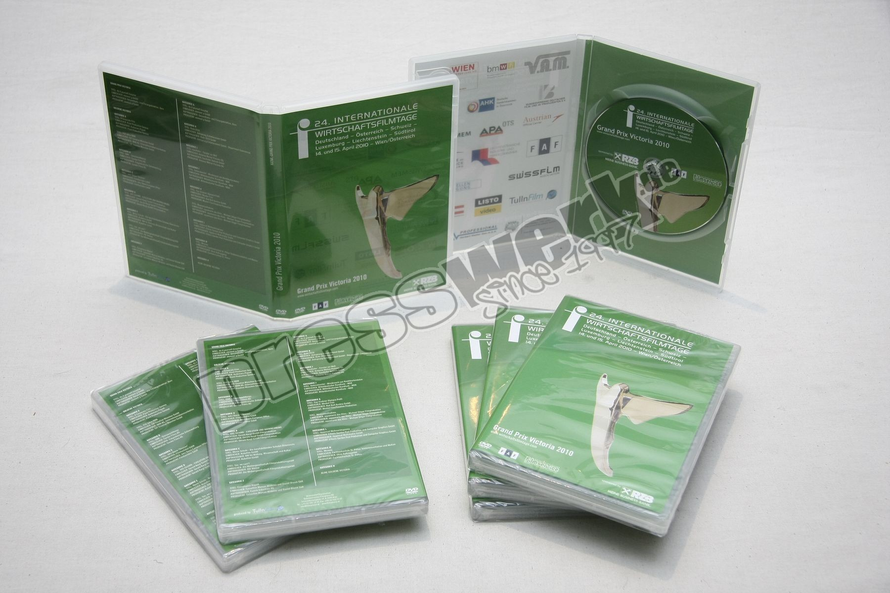 presswerk CD DVD BluRay Vinyl pressen